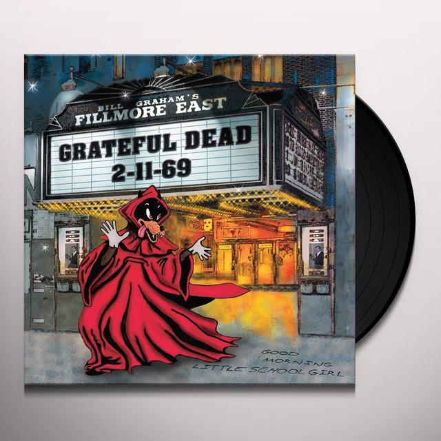 Grateful Dead FILLMORE EAST 2-11-69 Vinyl Record - Limited Edition, 180 Gram Pressing