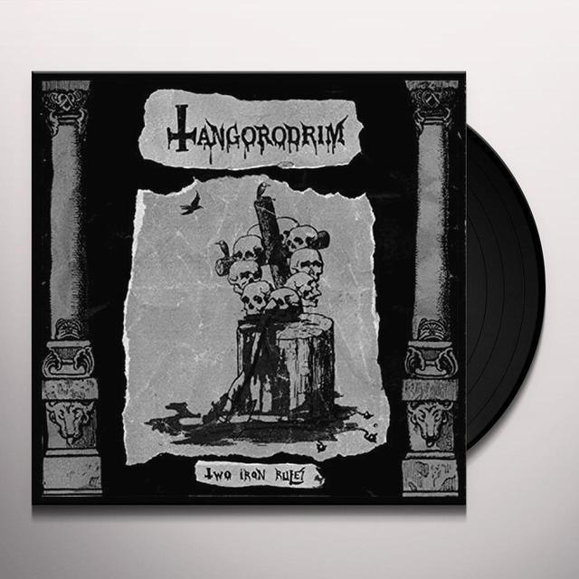 Tangorodrim TWO IRON RULES Vinyl Record