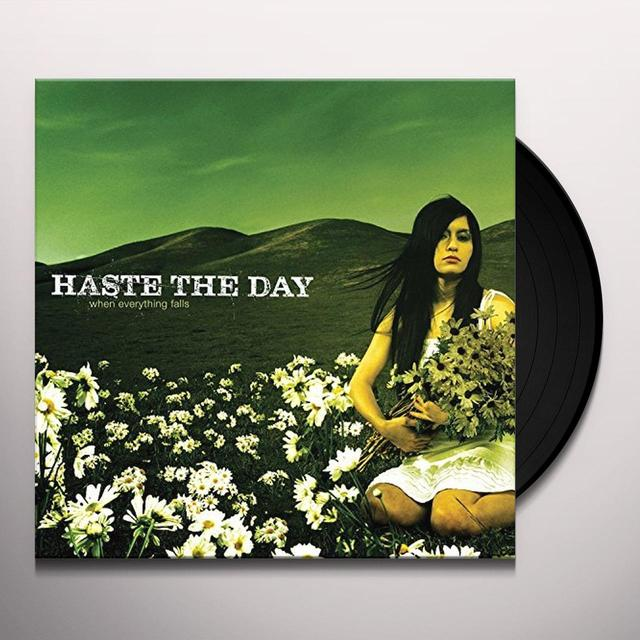 Haste the Day WHEN EVERYTHING FALLS Vinyl Record