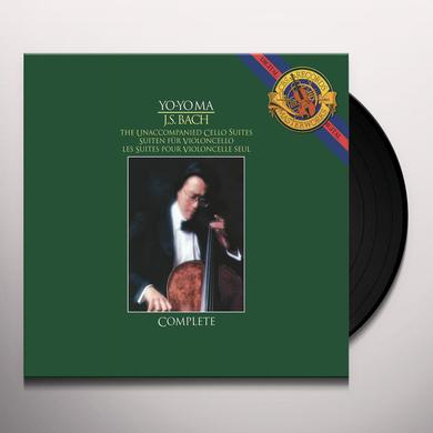 Bach / Yo-Yo Ma UNACCOMPANIED CELLO SUITES Vinyl Record