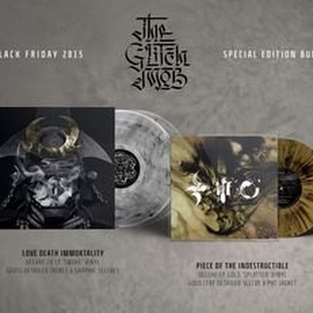 The Glitch Mob LOVE DEATH IMMORTALITY / PIECE OF INDESTRUCTIBLE Vinyl Record
