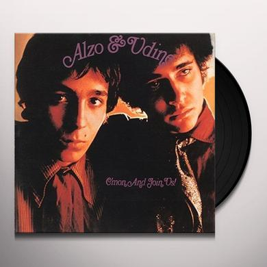 ALZO & UDINE C'MON & JOIN US Vinyl Record - Limited Edition, Japan Import