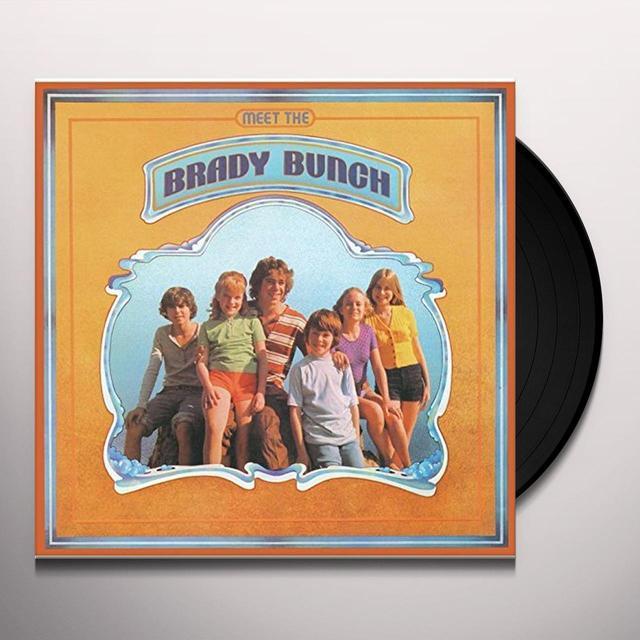 MEET THE BRADY BUNCH Vinyl Record