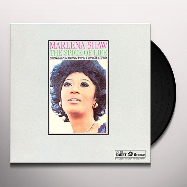 Marlena Shaw SPICE OF LIFE Vinyl Record - Limited Edition, Japan Import