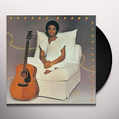 Sheree Brown STRAIGHT AHEAD Vinyl Record - Limited Edition, Japan Import