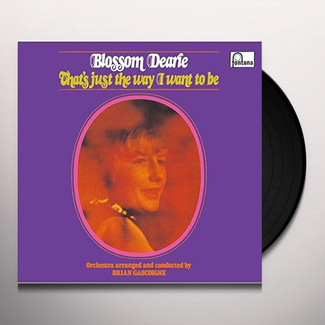 Blossom Dearie THAT'S JUST THE WAY I WANT TO BE Vinyl Record - Limited Edition, Japan Import