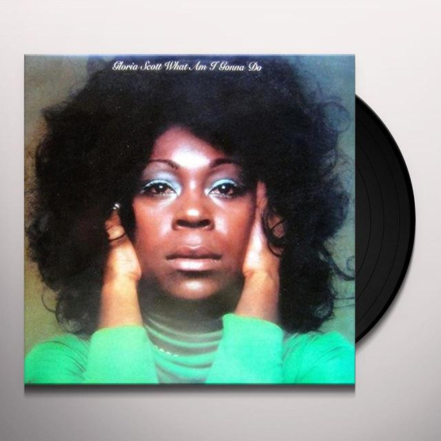 Gloria Scott WHAT AM I GONNA DO Vinyl Record - Limited Edition, Japan Import