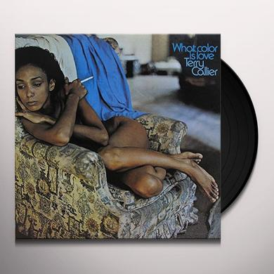 Terry Callier WHAT COLOR IS LOVE Vinyl Record