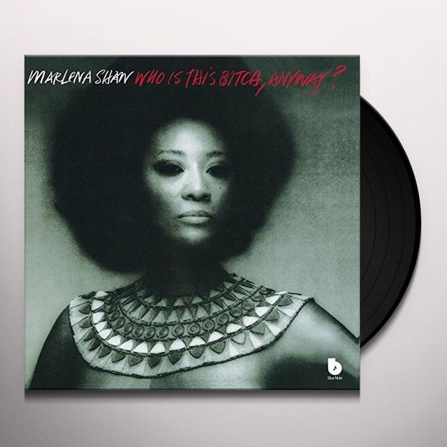 Marlena Shaw WHO IS THIS BITCH ANYWAY Vinyl Record - Limited Edition, Japan Release