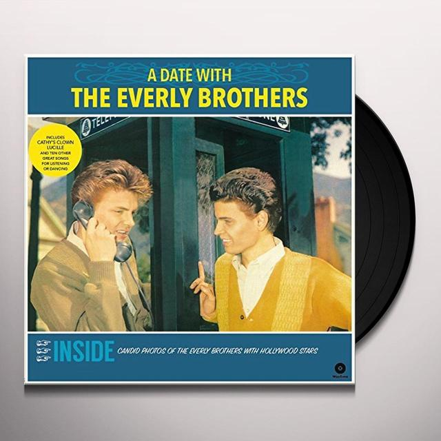 DATE WITH THE EVERLY BROTHERS + 4 BONUS TRACKS Vinyl Record