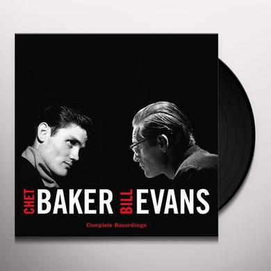 Chet Baker / Bill Evans COMPLETE RECORDINGS Vinyl Record - 180 Gram Pressing, Digital Download Included, Spain Import