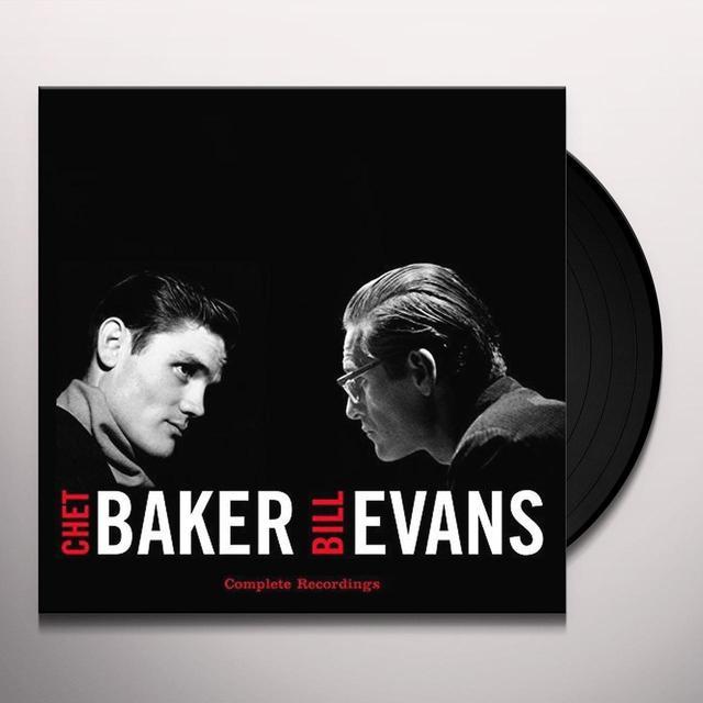 Chet Baker / Bill Evans COMPLETE RECORDINGS Vinyl Record - 180 Gram Pressing, Digital Download Included, Spain Import