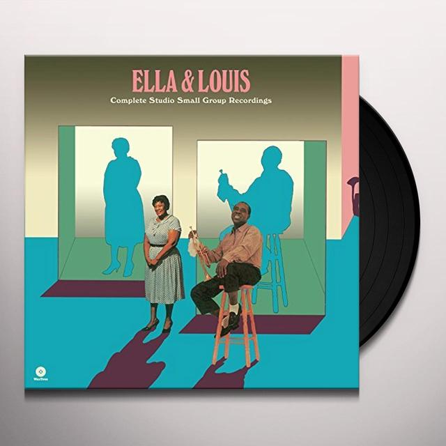 Ella Fitzgerald & Louis Armstrong  COMPLETE STUDIO SMALL GROUP RECORDINGS Vinyl Record - 180 Gram Pressing, Spain Import