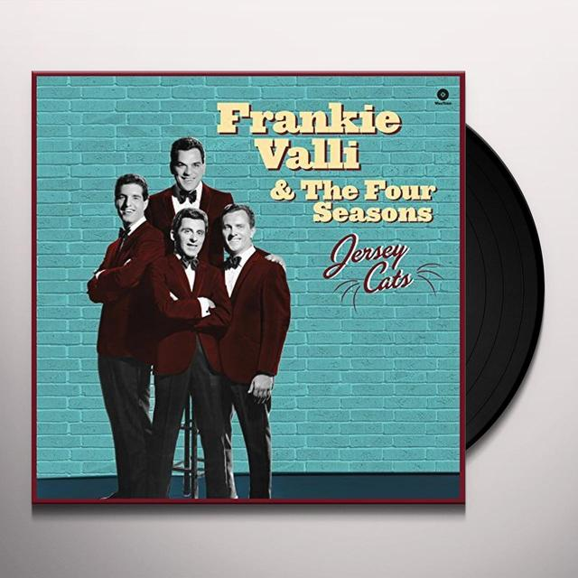 Frankie Valli & Four Seasons JERSEY CATS Vinyl Record