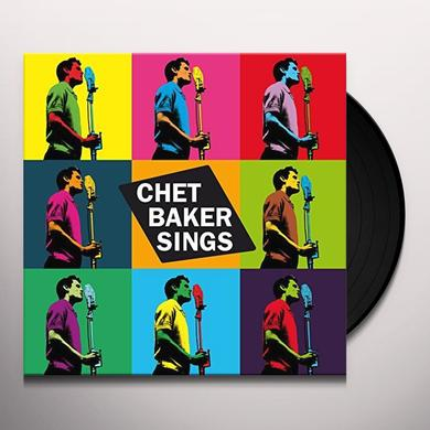 Chet Baker SINGS Vinyl Record - 180 Gram Pressing, Digital Download Included, Spain Import