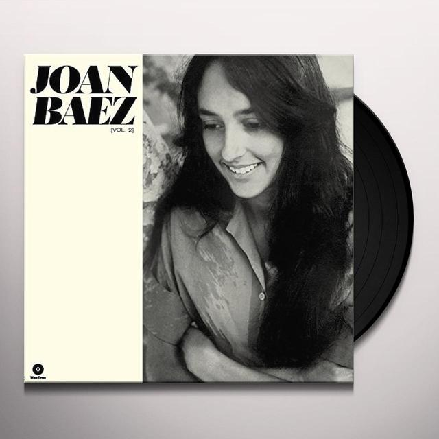 Joan Baez VOL 2 Vinyl Record - 180 Gram Pressing, Digital Download Included, Spain Import