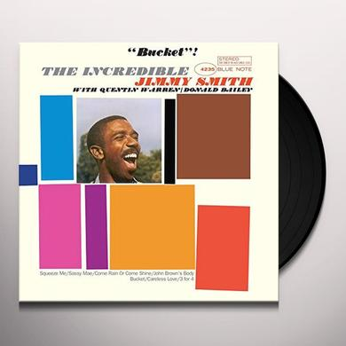 Jimmy Smith BUCKET Vinyl Record - Limited Edition, 180 Gram Pressing, Spain Import