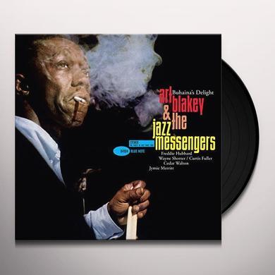 Art Blakey & Jazzmessengers BUHAINA'S DELIGHT Vinyl Record - Limited Edition, 180 Gram Pressing, Spain Import