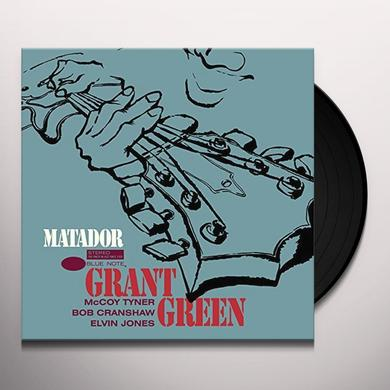 Grant Green MATADOR Vinyl Record - Limited Edition, 180 Gram Pressing, Spain Import