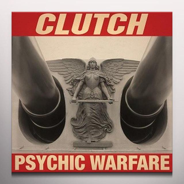 Clutch PSYCHIC WARFARE (COLOR LP) Vinyl Record - Colored Vinyl, UK Import