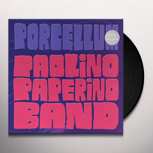 PAOLINO PAPERINO BAND PORCELLUM (PICTURE DISC) Vinyl Record