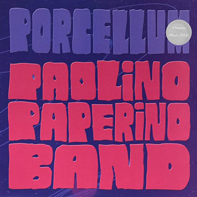 PAOLINO PAPERINO BAND PORCELLUM (PICTURE DISC) Vinyl Record - Picture Disc, Italy Import