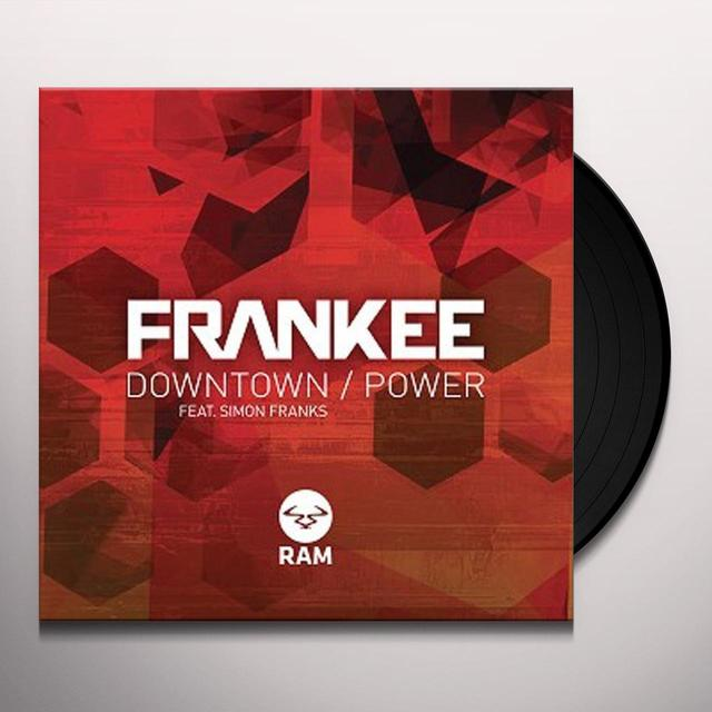 Frankee DOWNTOWN / POWER Vinyl Record