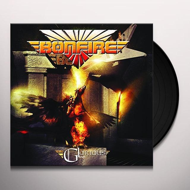 Bonfire GLORIOUS (GER) Vinyl Record