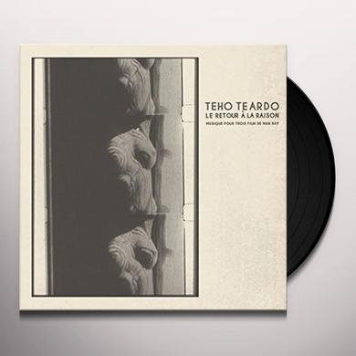 Teho Teardo LE RETOUR A LA RAISON Vinyl Record