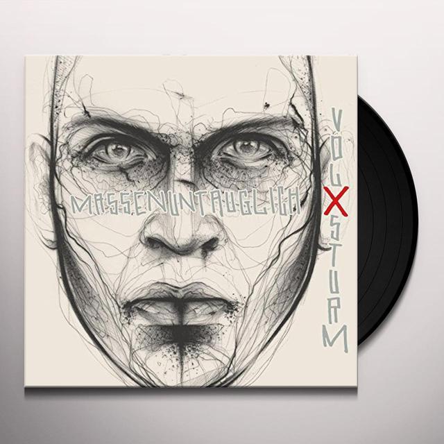 VOLXSTURM MASSENUNTAUGLICH: BLACK (GER) Vinyl Record