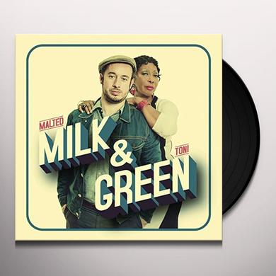 Malted Milk / Toni Green MILK & GREEN Vinyl Record