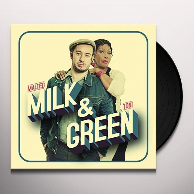 Malted Milk / Toni Green MILK & GREEN Vinyl Record - UK Import
