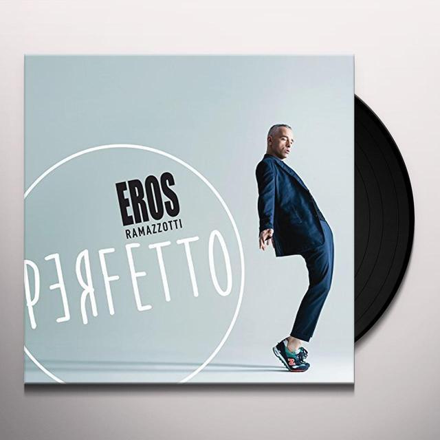 Eros Ramazzotti PERFETTO Vinyl Record - Italy Import