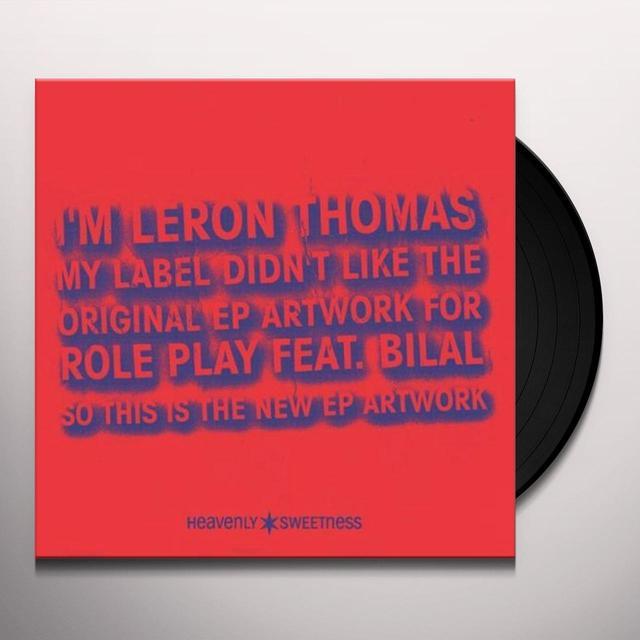 Leron Thomas ROLE PLAY Vinyl Record - Canada Import