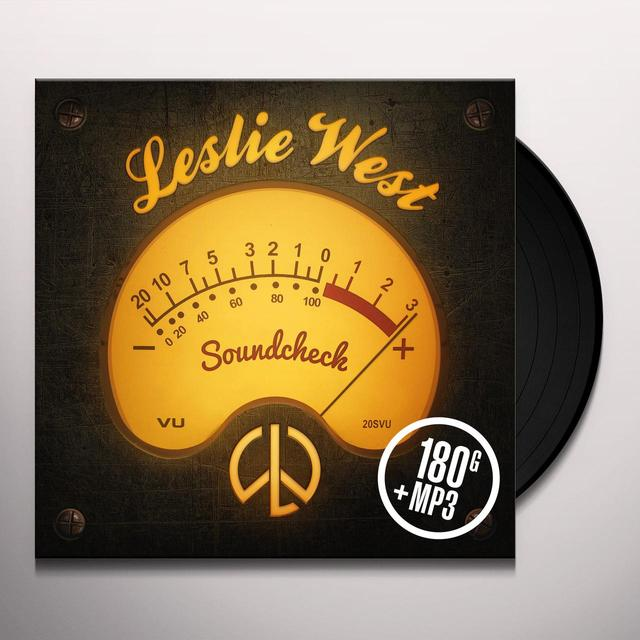 Leslie West SOUNDCHECK Vinyl Record - UK Release
