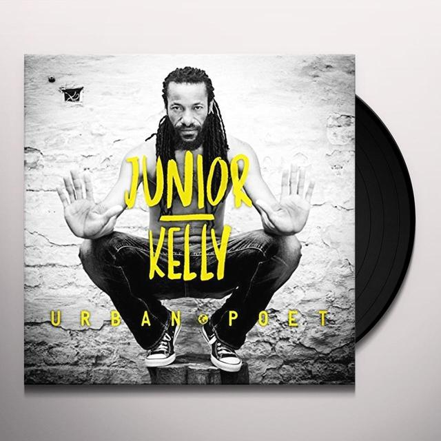Junior Kelly URBAN POET (2LP) Vinyl Record - Canada Release