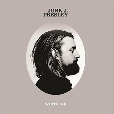 John J Presley WHITE INK EP Vinyl Record