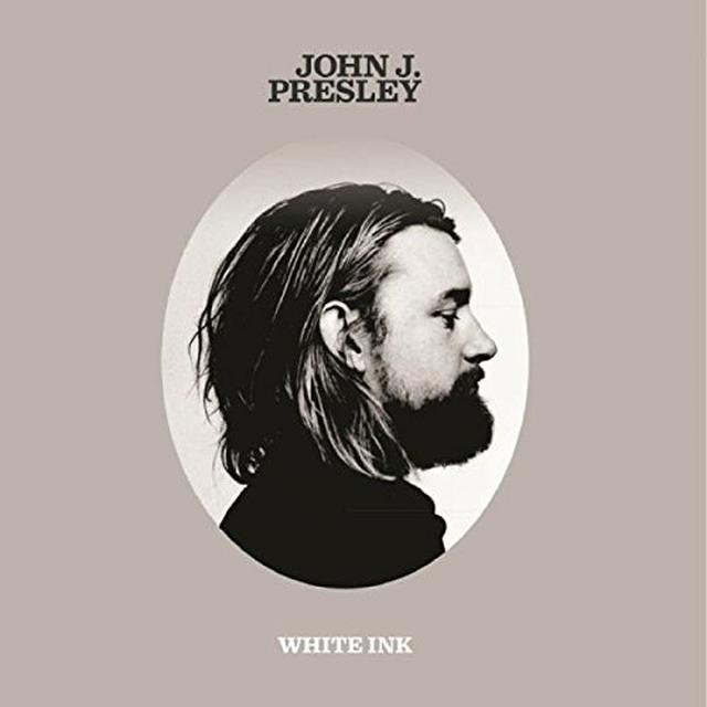 John J Presley WHITE INK EP Vinyl Record - 10 Inch Single, UK Import