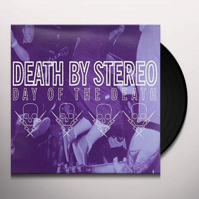 Death By Stereo DAY OF THE DEATH Vinyl Record - Limited Edition