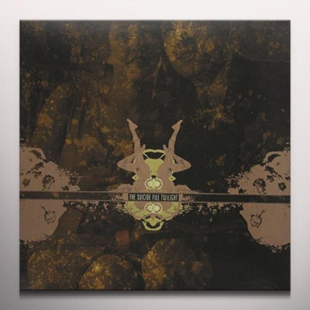 Suicide File TWILIGHT Vinyl Record - Gray Vinyl, Limited Edition