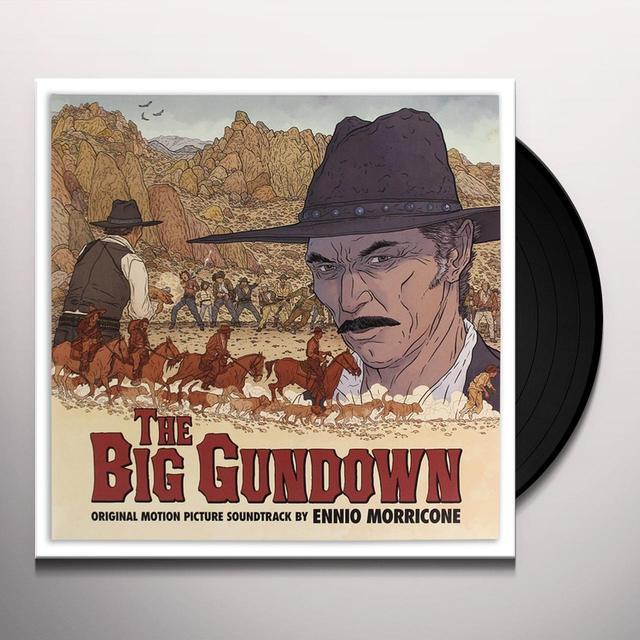 Ennio Morricone BIG GUNDOWN / O.S.T. Vinyl Record