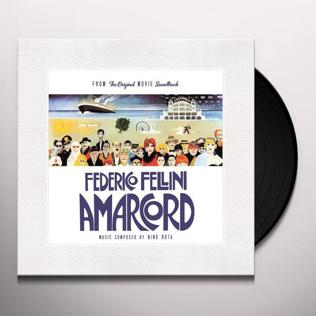 Nino Rota AMARCORD / O.S.T. Vinyl Record - Black Vinyl, 180 Gram Pressing