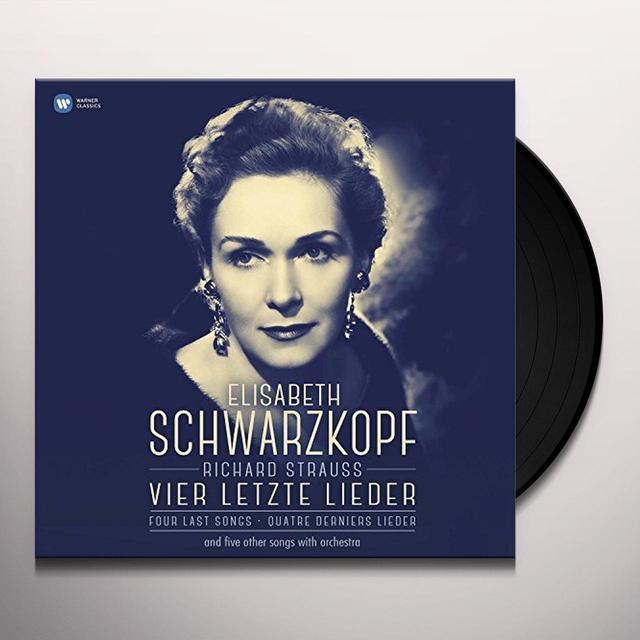 Strauss / Elizabeth Schwarzkopf / George Szell VIER LETZTE LIEDER Vinyl Record
