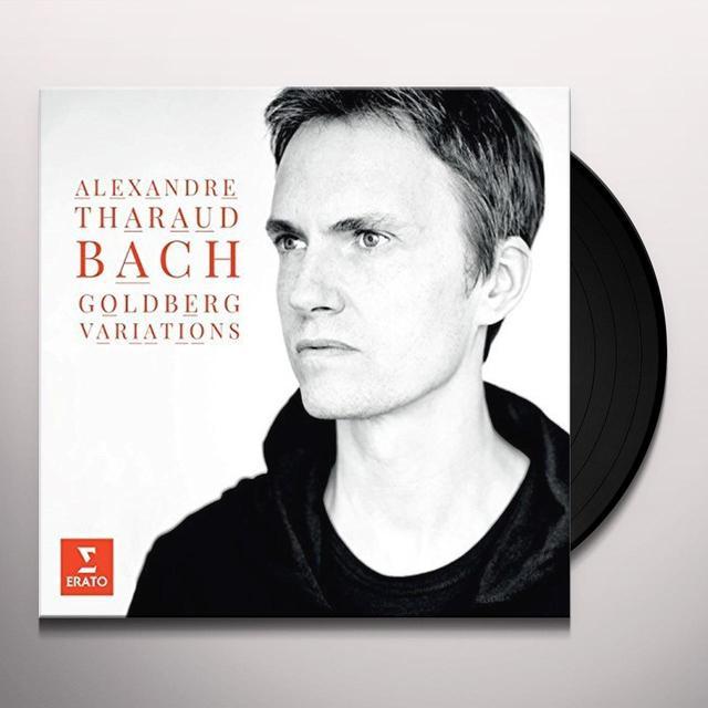 Bach / Alexander Tharaud GOLDBERG VARIATIONS Vinyl Record