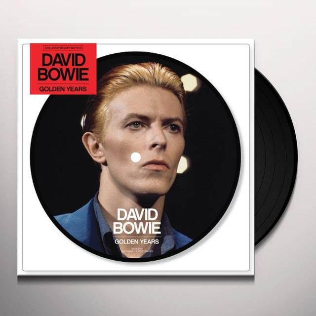 "David Bowie GOLDEN YEARS (40TH ANNIVERSARY 7"" PICTURE DISC) Vinyl Record"
