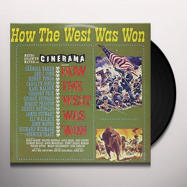 Alfred Newman HOW THE WEST WAS WON Vinyl Record