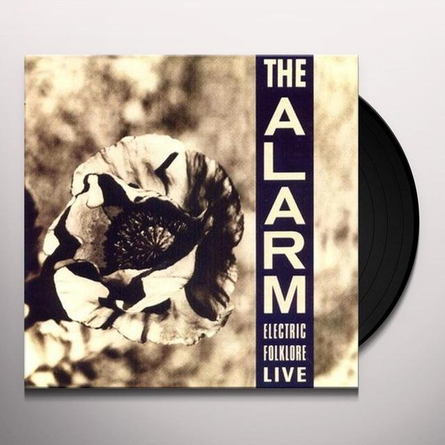 Alarm ELECTRIC FOLKLORE LIVE Vinyl Record