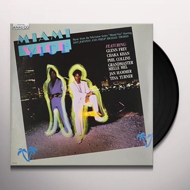 Glenn Frey / Jan Hammer MIAMI VICE Vinyl Record