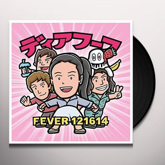 Deerhoof FEVER 121614 Vinyl Record