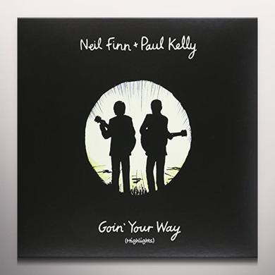 Neil Finn / Paul Kelly GOIN YOUR WAY (HIGHLIGHTS) Vinyl Record - Colored Vinyl, Yellow Vinyl